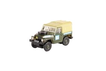 "NLRL001 Land Rover Lightweight - ""United Nations"" £4"