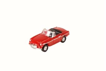 NMGB001 MGB Roadster Tartan Red