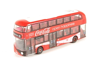 "NNR004CC New Routemaster ""London United / Coca Cola"""