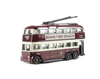 NQ1005 Q1 BUT Trolleybus Cardiff.