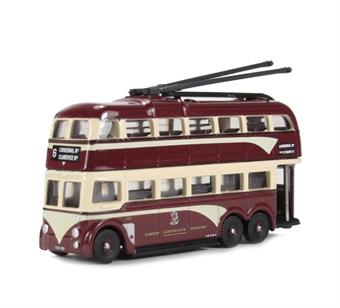 NQ1007 Q1 Trolleybus- Cardiff (Streamline).