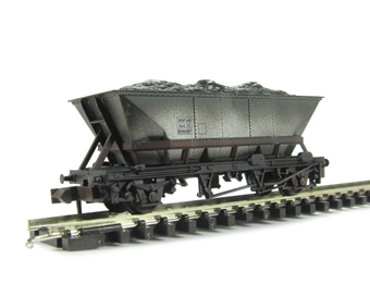 NR-300w HAA MGR coal hopper with Bauxite cradle - weathered