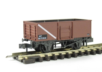 NR-44FB BR Butterley steel coal wagon in bauxite #B171610