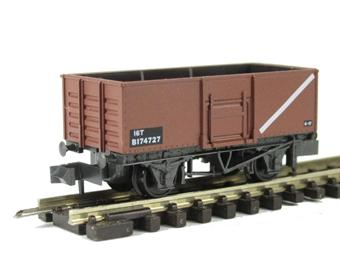 NR-44FC BR Butterley steel coal wagon in bauxite #B174727