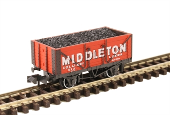 "NR-P423 7-plank open wagon ""Middleton Colliery, Leeds"""
