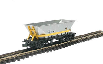 NR-302 HAA MGR coal hopper in Trainload Coal livery with yellow cradle