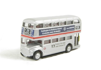 NRM005 Routemaster Bus in LT Silver Jubilee livery