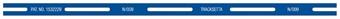 "NT10 254mm (10"") Straight Template Tracksetta £6.50"