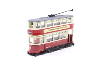 "NTR001-PO03 Dick Kerr closed tram ""London Transport"" - Pre-owned - imperfect box"