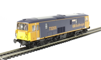 """OLIV002 Class 73/2 73205 """"Jeanette"""" In GB Railfreight blue - Olivias Trains limited edition"""