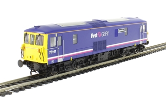 """OLIV003 Class 73/1 73141 """"Charlotte"""" In First GBRf purple - Olivias Trains limited edition"""