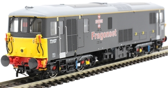 "OLIV004 Class 73/1 73107 ""Spitfire"" in Fragonset black - Olivias Trains limited edition"