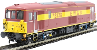 OLIV006 Class 73/1 73128 in EW&S red and gold - Olivias Trains limited edition