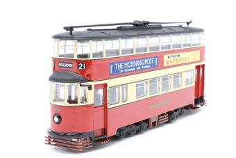 "OM40501.(C)-PO13 1931 Feltham streamlined d/deck tram ""London Transport"" - Pre-owned - Like new, imperfect box"