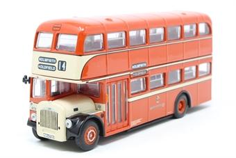 """OM41102-PO06 Daimler CVG6 East Lancs """"Huddersfield Corporation Transport"""" - Pre-owned - Like new"""