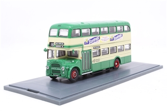 OM41113A-PO East Lancs Double Deck - West Yorkshire PTE - 16 West Bowling/Sunbridge Road Dual Destination - Pre-owned - damaged mirror, fixed to base due to damaged screws