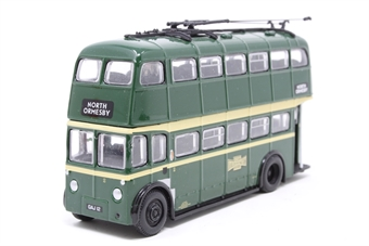 "OM41401-PO02 Roe Trolleybus ""Tee-side Railless Traction Board"" - Pre-owned - imperfect box"
