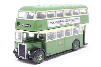 "OM41403-PO02 Leyland PD2/Roe d/deck bus ""Lincoln Corporation"" - Pre-owned - imperfect box"