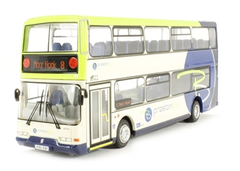 "OM42521B Dennis Trident East Lancs ""Preston Bus, 8 Moor Nook"" £32"