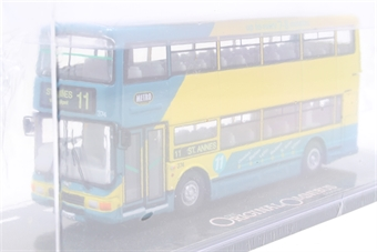 """OM43603-PO02 Plaxton Palatine 11 modern d/deck bus """"Blackpool"""" - Pre-owned - Like new- factory sealed  £18"""