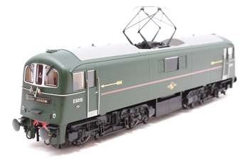 OO71-002HAT-PO01 Class 71 E5015 in BR Southern Region light green with full Golden Arrow headboards, arrows and flags pre-fitted - Exclusive to Hatton's - Open box, imperfect box