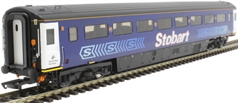 OR763FO004 Mk3a FO first open 11013 in Stobart Rail Pullman livery