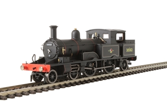 OR76AR004 Class 415 Adams Radial 4-4-2T 30582 in BR black with late crest