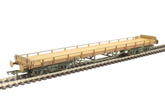 OR76CAR002 60ft Carflat car carrier in B745900 in BR bauxite - weathered