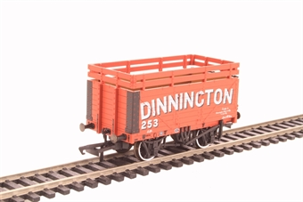 "OR76CK7001 7-plank open wagon ""Dinnington"" with coke rails"