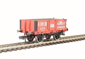 "OR76MW4002 4 plank wagon - ""R. Taylor & Sons Ltd, Dundee"""