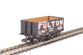 "OR76MW7018 7 plank wagon - ""Fulton, Wigan"""