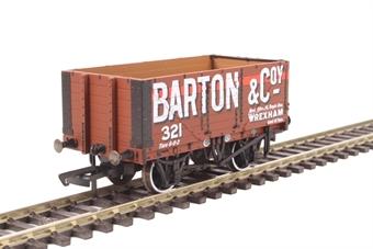 "OR76MW7020 7 plank wagon - ""Barton and Company, Wrexham"""