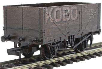 "OR76MW7021W 7 plank open wagon ""Kobo"" - weathered"