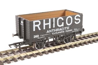 "OR76MW7025 7-plank open wagon ""Rhigos Anthracite, Cardiff"""