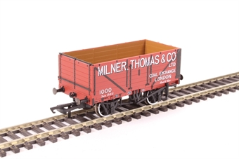 "OR76MW7027 7-plank open wagon ""Milner, Thomas and Co, London"""