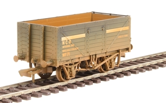 "OR76MW7030W 7-plank open wagon ""National Coal Board - NCB internal user"" - weathered"
