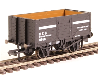 "OR76MW7030 7-plank open wagon ""National Coal Board - NCB internal user"""
