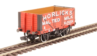 "OR76MW7032 7-plank open wagon ""Horlicks Malted Milk, Slough"""