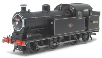 OR76N7004 Class N7 0-6-2T 69670 in BR black with late crest
