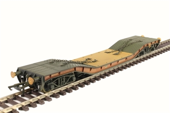 OR76WW002W 45 ton Warwell wagon in BR bauxite - weathered £25