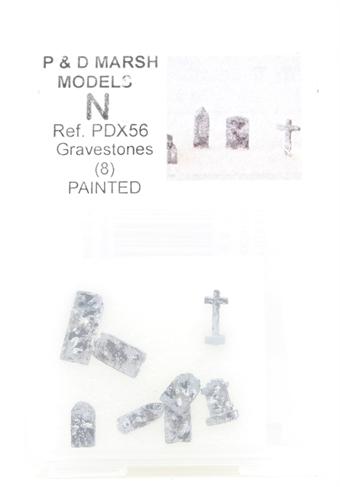 PDX56 Gravestones - pack of eight