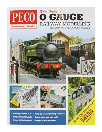 PM-208 Guide to O gauge Railway Modelling bookazine - 124 pages