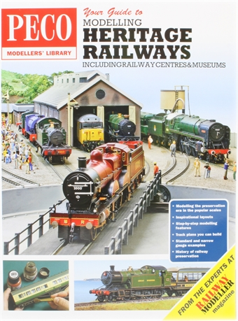PM-210 Guide to modelling Heritage Railways bookazine - 120 pages