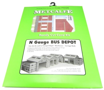 PN125 Bus garage - card kit
