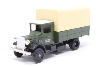 POV6-PO 1934 Mack Canvas Back Truck - Post Office Telephones - Pre-owned - Like new
