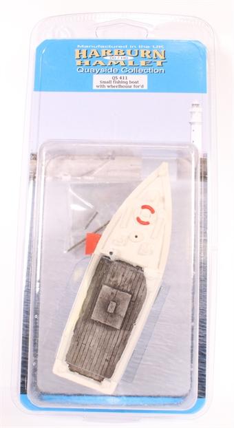 QS411 Small Fishing Boat with Forward Wheelhouse