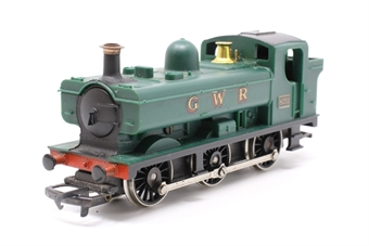 R041Pannier-PO43 Class 57XX 0-6-0PT 8751 in GWR Green - Pre-owned - Noisy, slow, wobbly runner, replacement box