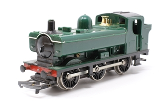R041Pannier-PO44 Class 57XX 0-6-0PT in GWR Green - Pre-owned - decals removed - marks on body - replacement box