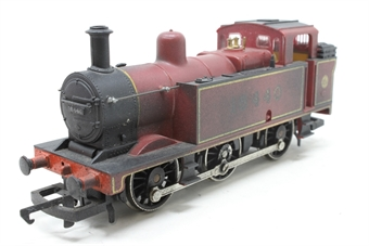 R052-3F-PO22 Class 3F Jinty 0-6-0T 16440 in LMS Maroon - Pre-owned - weathered, noisy runner, imperfect box