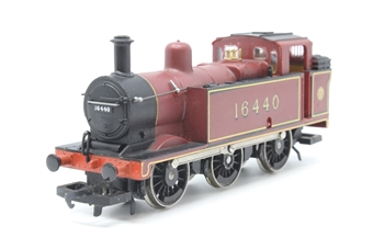 R052-3F-PO26 Class 3F Jinty 0-6-0T 16440 in LMS Maroon - Pre-owned - detailed - added crew - replacement box